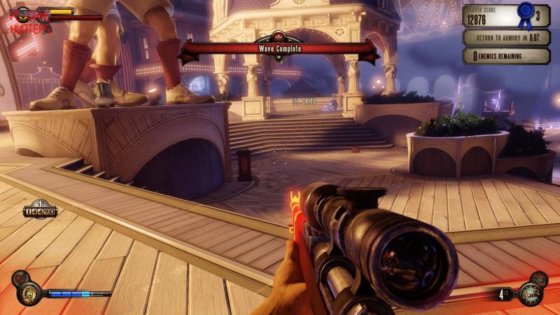 BioShock Infinite DLC: Clash in the Clouds