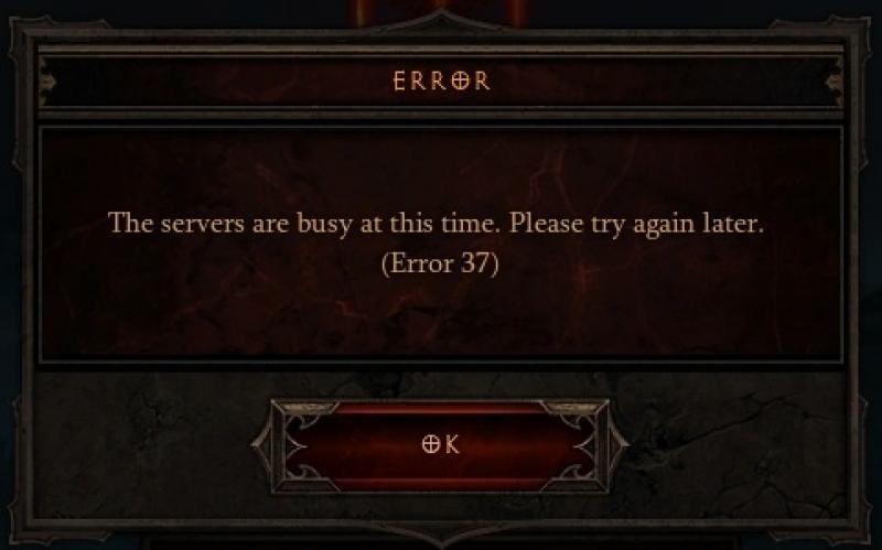 Diablo 3 – Error 37