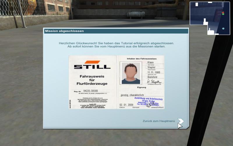 Gabelstapler Simulator 2009
