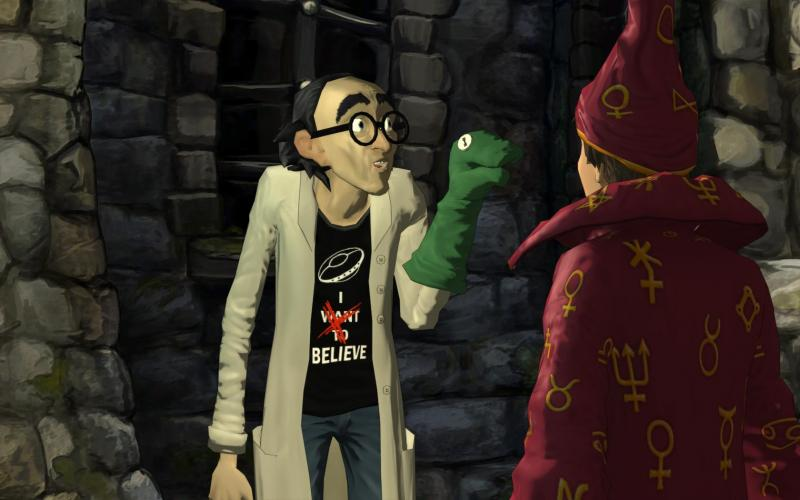 Simon the Sorcerer Wer will schon Kontakt